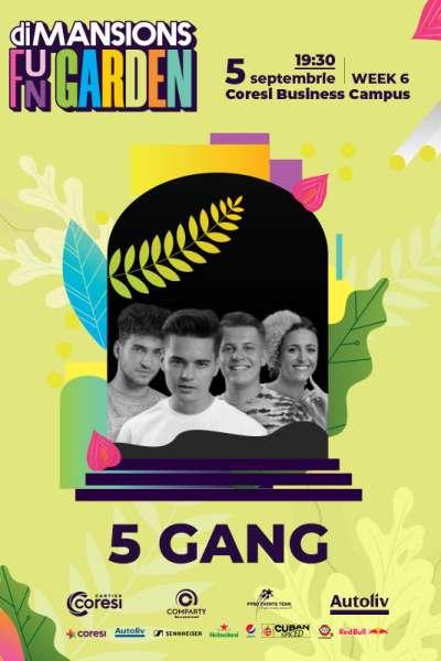 Poster eveniment 5GANG