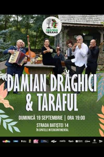 Poster eveniment Damian Drăghici & Taraful