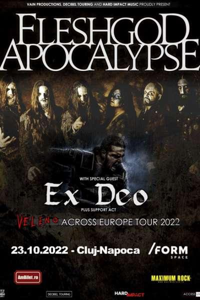 Poster eveniment Fleshgod Apocalypse & Ex Deo