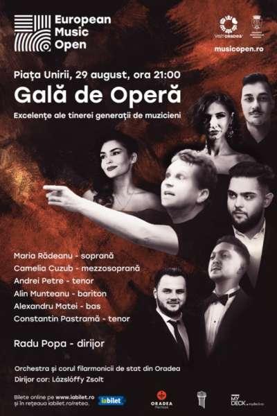 Poster eveniment Gală de Operă