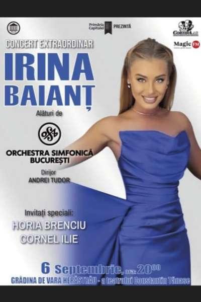 Poster eveniment Irina Baianț