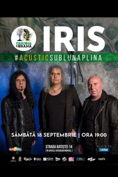 Poster eveniment IRIS - Acustic Sub Lună Plină