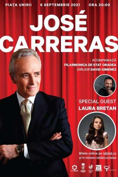 Poster eveniment José Carreras