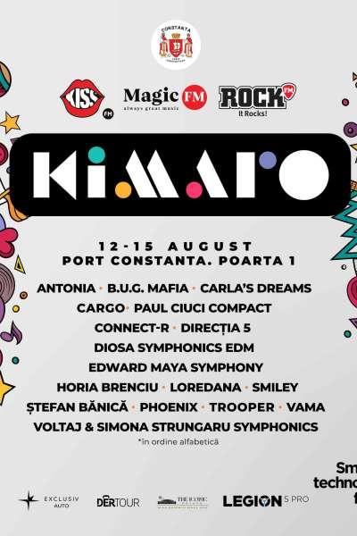 Poster eveniment Kimaro Festival 2021