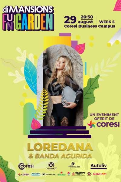 Poster eveniment Loredana & Banda Agurida
