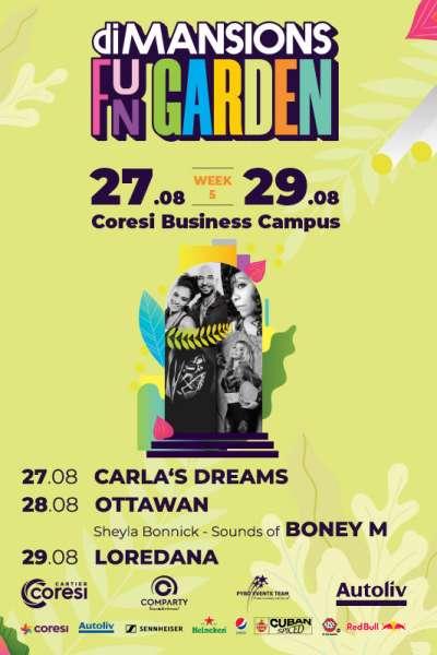 Poster eveniment Loredana, Carla\'s Dreams, Ottawan & Sheyla Bonnick - Sounds of Boney M