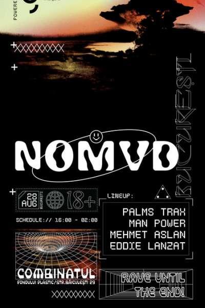 Poster eveniment NOMVD