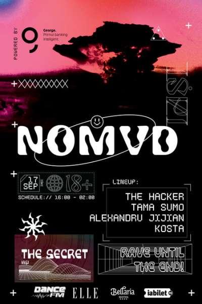 Poster eveniment NOMVD - Iași