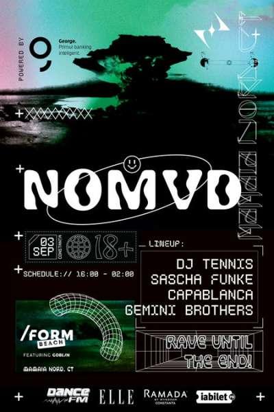 Poster eveniment NOMVD - Mamaia