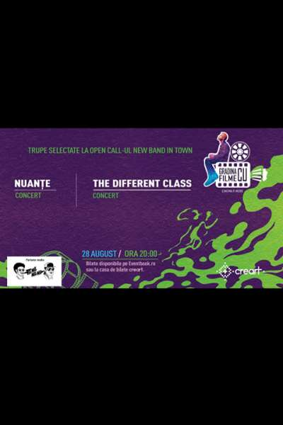 Poster eveniment Nuanțe & The Different Class