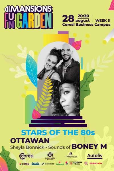 Poster eveniment Ottawan & Sheyla Bonnick - Sounds of Boney M
