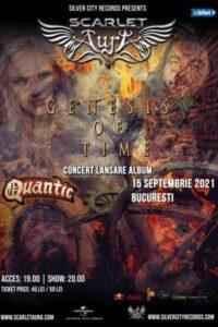 Scarlet Aura - lansare album