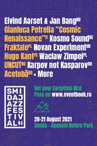 Poster eveniment Smida Jazz Festival 2021