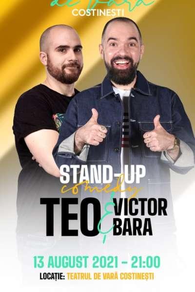 Poster eveniment Stand-up comedy cu Teo și Victor Bara