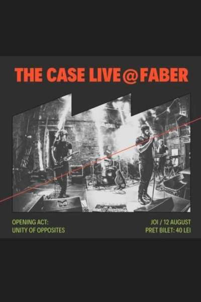 Poster eveniment The Case