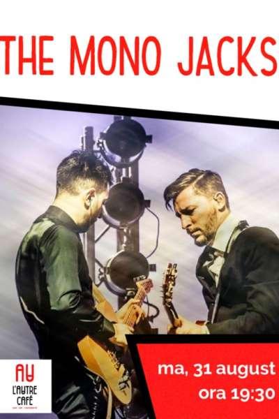Poster eveniment The Mono Jacks - acustic