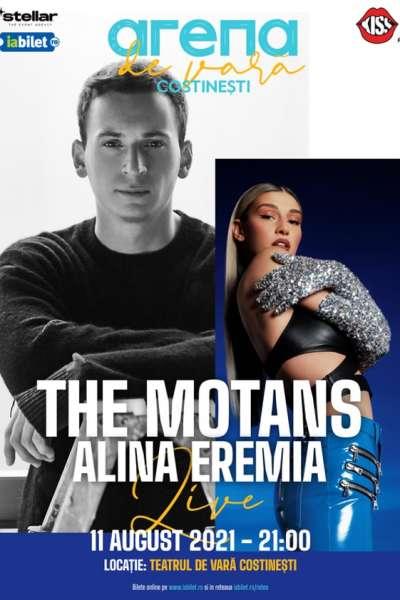 Poster eveniment The Motans și Alina Eremia