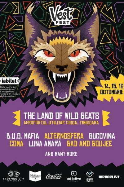Poster eveniment Vest Fest 2021