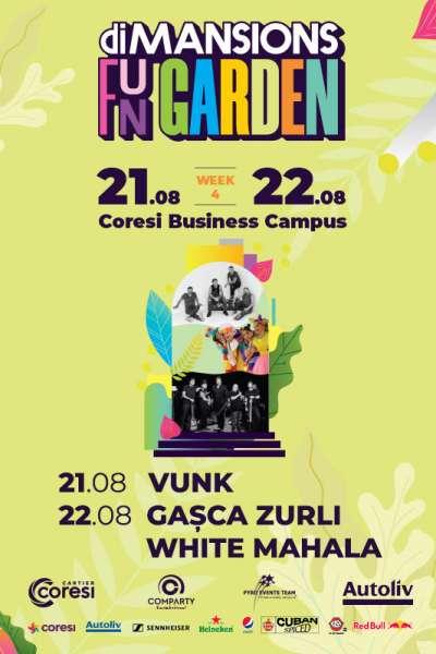 Poster eveniment Vunk, Zurli, White Mahala