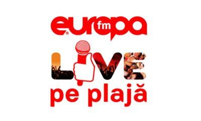 Europa FM Live pe Plajă (Logo)