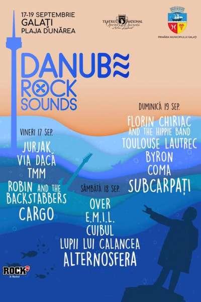 Poster eveniment Danube Rock Sounds 2021