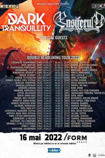 Poster eveniment Dark Tranquillity & Ensiferum