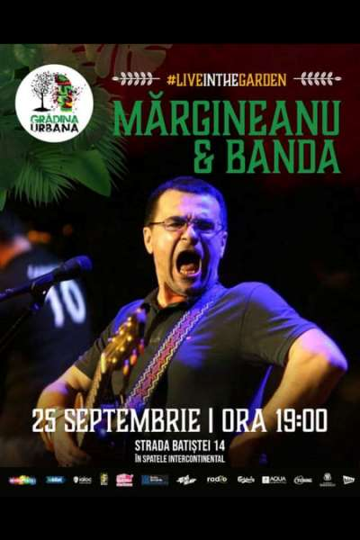 Poster eveniment Mihai Mărgineanu & Banda