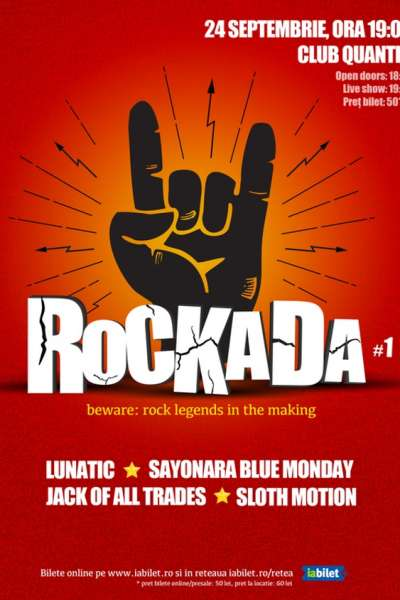 Poster eveniment ROCKADA