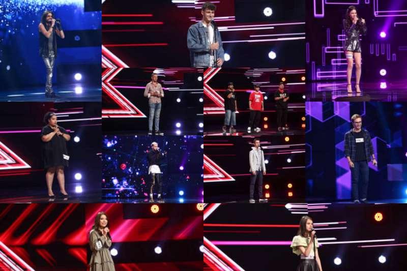 Concurenți a doua rundă de audiții X Factor 2021