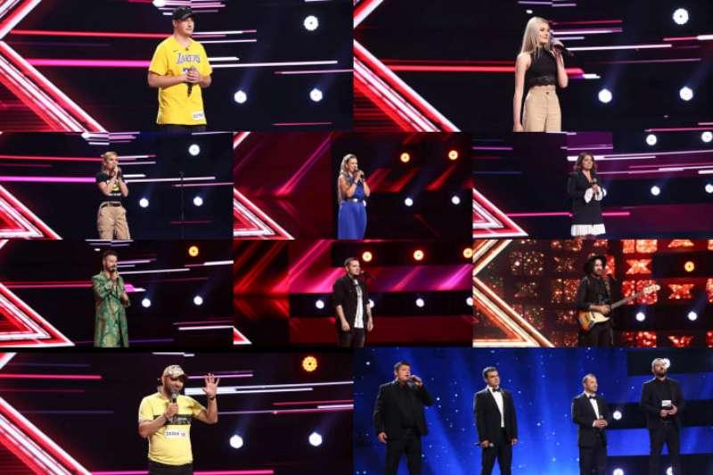 Concurenți a treia rundă de audiții X Factor 2021