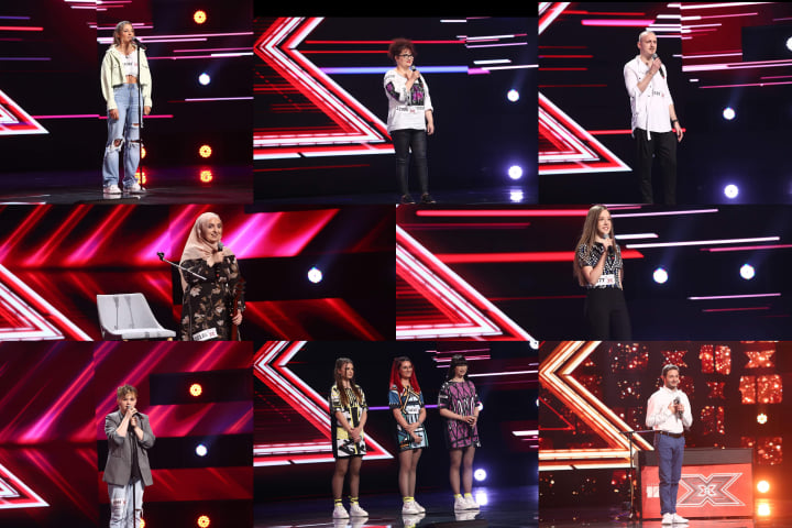 Concurenți prima rundă de audiții X Factor 2021