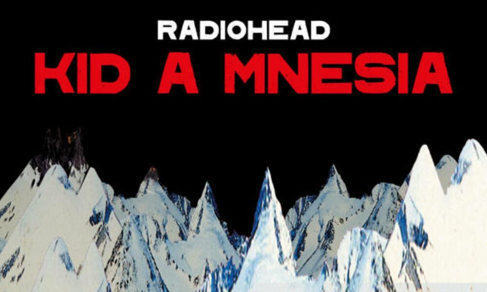Coperta album Radiohead Kid A Mnesia