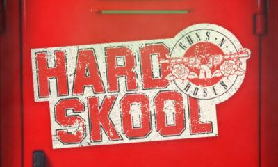 Coperta single Guns N Roses Hard Skool