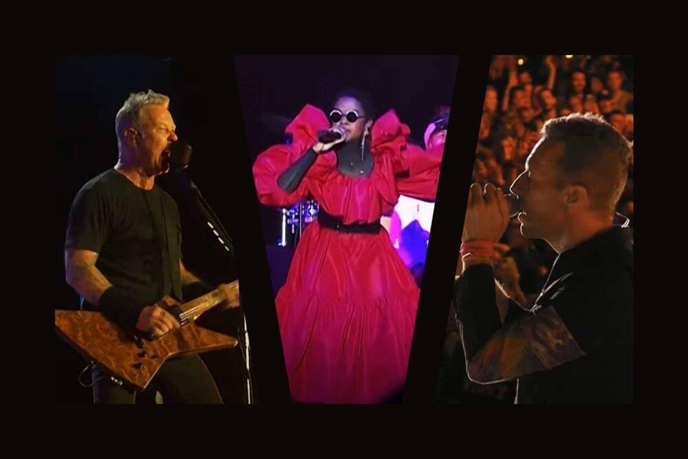 Metallica / The Fugees / Coldplay la Global Citizen