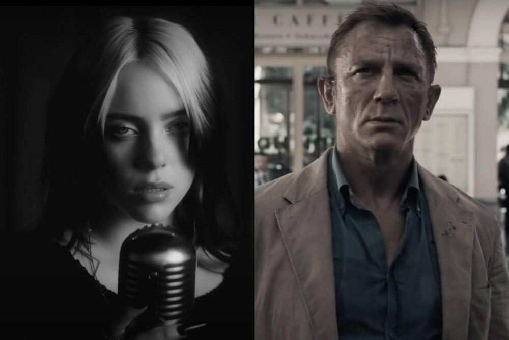 """Billie Eilish / Daniel Craig în """"No Time To Die"""""""