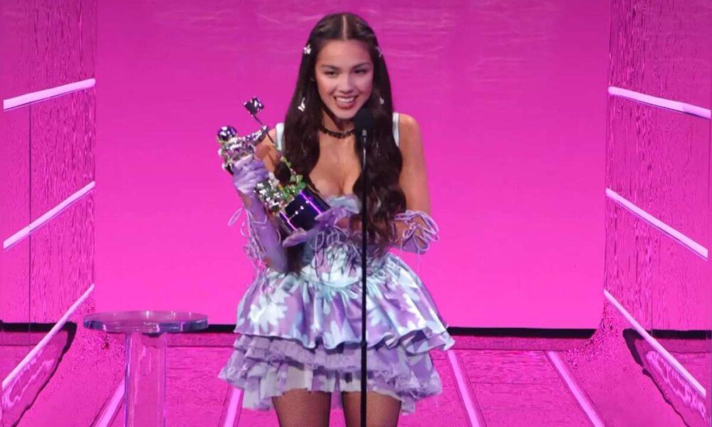 Olivia Rodrigo la gala MTV VMA 2021