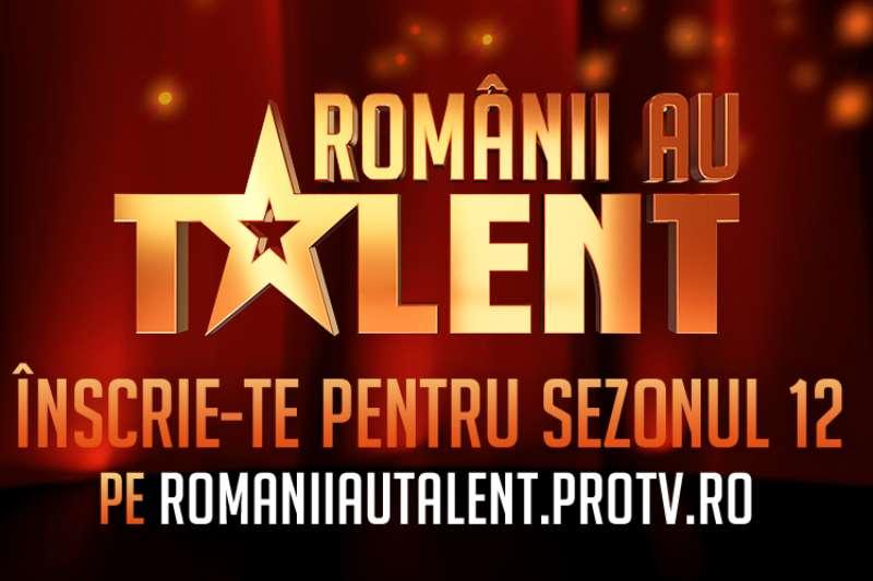"""""""Românii au talent"""" sezonul 12"""