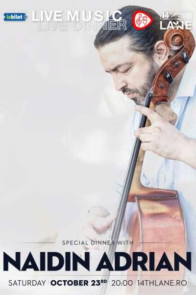 Poster eveniment Adrian Naidin