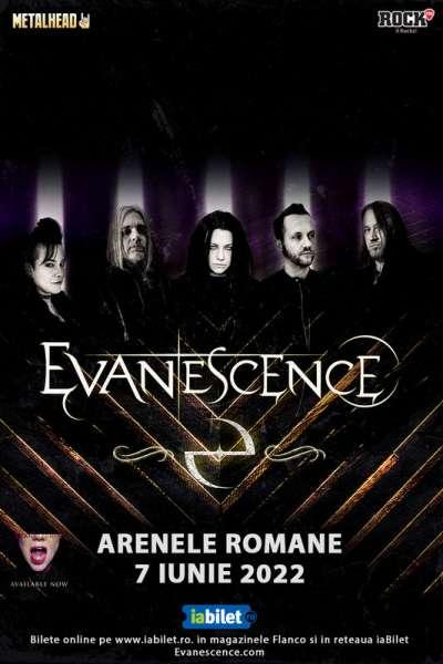 Poster eveniment Evanescence