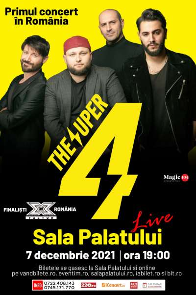 Poster eveniment The Super 4
