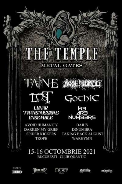 Poster eveniment The Temple (by Metal Gates)