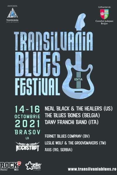 Poster eveniment Transilvania Blues Festival 2021