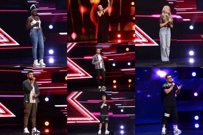 Concurenți a șaptea rundă de audiții X Factor 2021