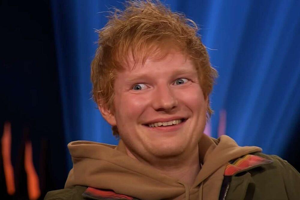 Ed Sheeran în emisiunea lui Skavlan