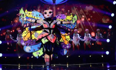 Fluturele pe scenă la Masked Singer România 2021