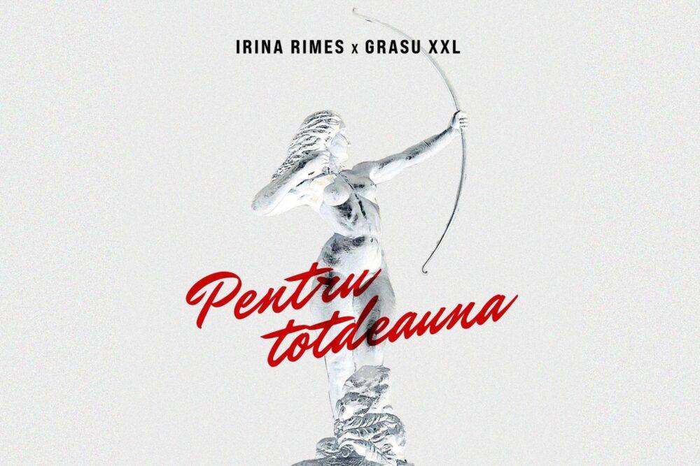 """Irina Rimes x Grasu XXL - """"Pentru Totdeauna"""" (Single Artwork)"""