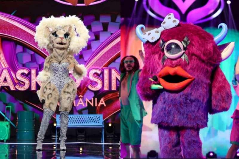 Pisica & Monstrulica la Masked Singer 2021