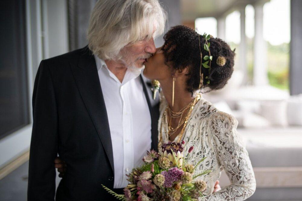 Roger Waters casatorie 2021 Kamilah Chavis