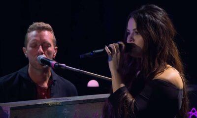 Coldplay X Selena Gomez - Let Somebody Go (LIVE)