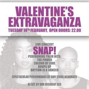 SNAP! la Valentine's Extravaganza la The Silver Church